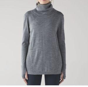 Lululemon Sweat and Savasana Sweater Merino Wool Grey 2/4?